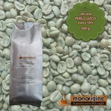 Caffè Verde Arabica in grani Perù Cuzco - 500 gr