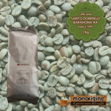 Caffè Verde Arabica in grani Santo Domingo Barahona AA - 1 Kg