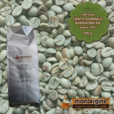 Caffè Verde Arabica in grani Santo Domingo Barahona AA - 500 gr