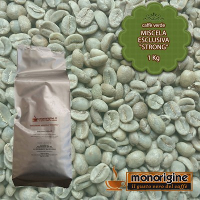 "Caffè Verde in grani Miscela Esclusiva ""Strong"" - 1 Kg"