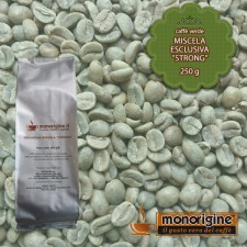"Caffè Verde in grani Miscela esclusiva ""Strong"" - 250 gr"