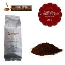 Caffè Arabica macinato per moka Colombia Medellin Supremo - 250 gr