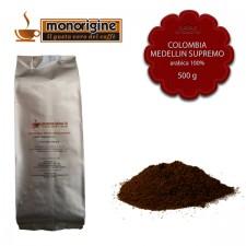 Caffè Arabica macinato per espresso Colombia Medellin Supremo - 500 gr