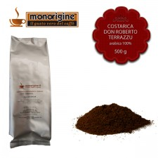 Caffè Arabica macinato per moka Costarica Don Roberto Terrazu - 500 gr