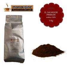 Caffè Arabica macinato per espresso El Salvador Primium - 1 Kg