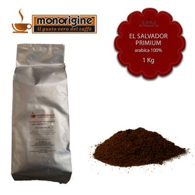 Caffè Arabica macinato per moka El Salvador Primium - 1 Kg