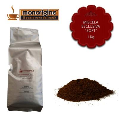 "Caffè macinato per moka Miscela Esclusiva ""Soft"" - 1 Kg"