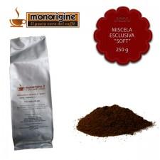 """Caffè macinato per espresso Miscela esclusiva """"Soft"""" - 250 gr"""