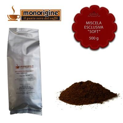 "Caffè macinato per moka Miscela esclusiva ""Soft"" - 500 gr"