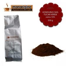 Caffè Arabica macinato per moka Honduras Tucan Verde - 250 gr