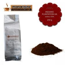 Caffè Arabica macinato per moka Indiano Plantation AA - 250 gr