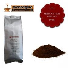 Caffè Arabica macinato per moka Kenya AA TOP - 500 gr