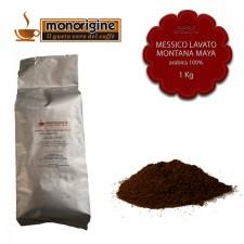 Caffè Arabica macinato per moka Messico Lavato Montana Maya - 1 Kg