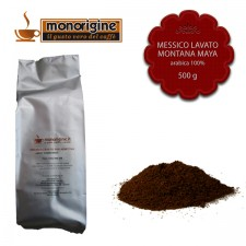 Caffè Arabica macinato per moka Messico Lavato Montana Maya - 500 gr