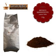Caffè Arabica macinato per moka Messico Maragogype - 1 Kg