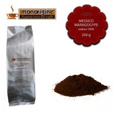 Caffè Arabica macinato per moka Messico Maragogype - 250 gr