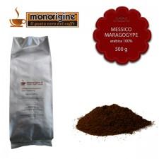 Caffè Arabica macinato per moka Messico Maragogype - 500 gr