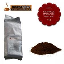 Caffè Arabica macinato per moka Nicaragua Matagalpa El Baron - 1 Kg