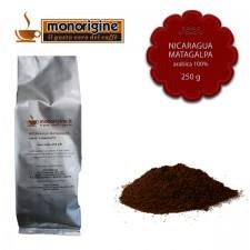 Caffè Arabica macinato per moka Nicaragua Matagalpa El Baron - 250 gr