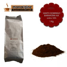 Caffè Arabica macinato per moka Santo Domingo Barahona AA - 1 Kg