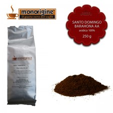 Caffè Arabica macinato per moka Santo Domingo Barahona AA - 250 gr